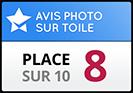 Photobox obtient la place 8 dans notre test de comparaison photo sur toile